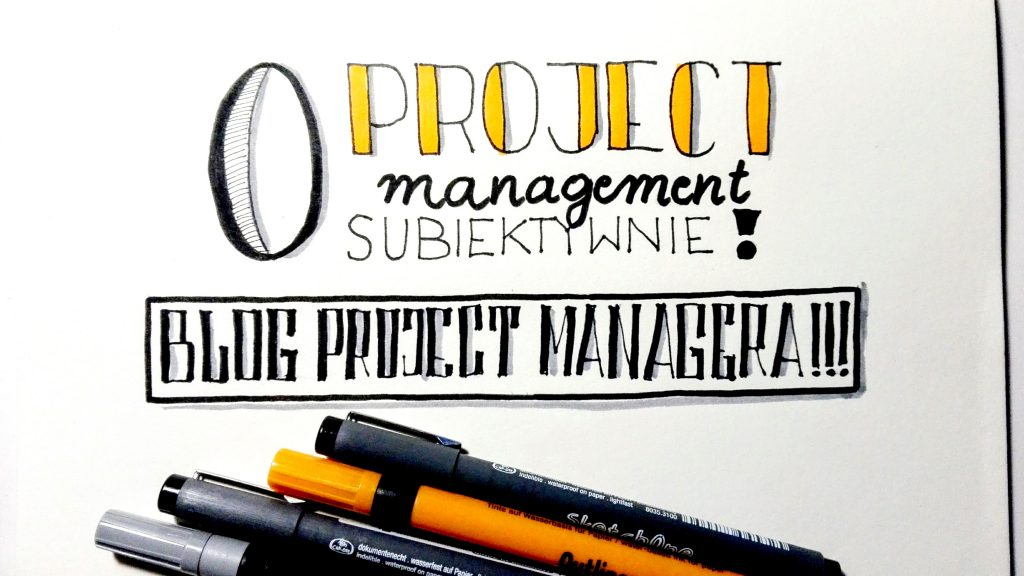 Project Management - sketchnoting