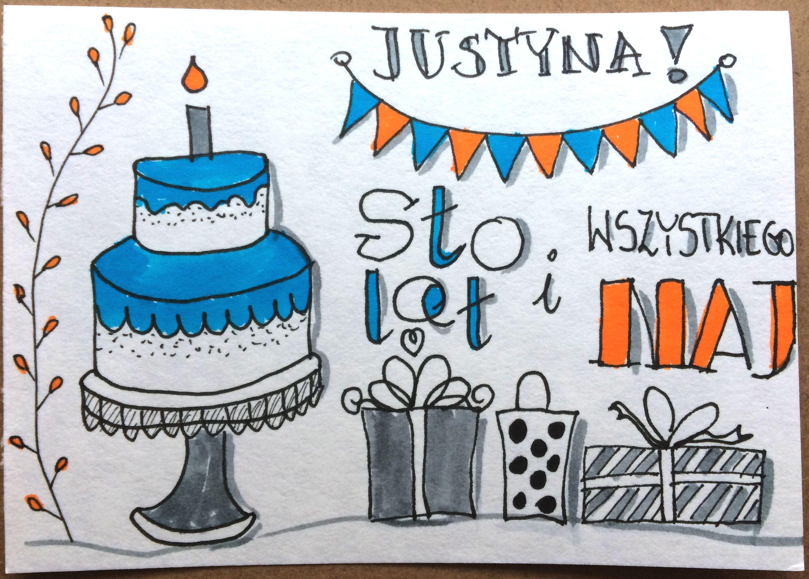 Życzenia urodzinowe cz. I sketchnoting