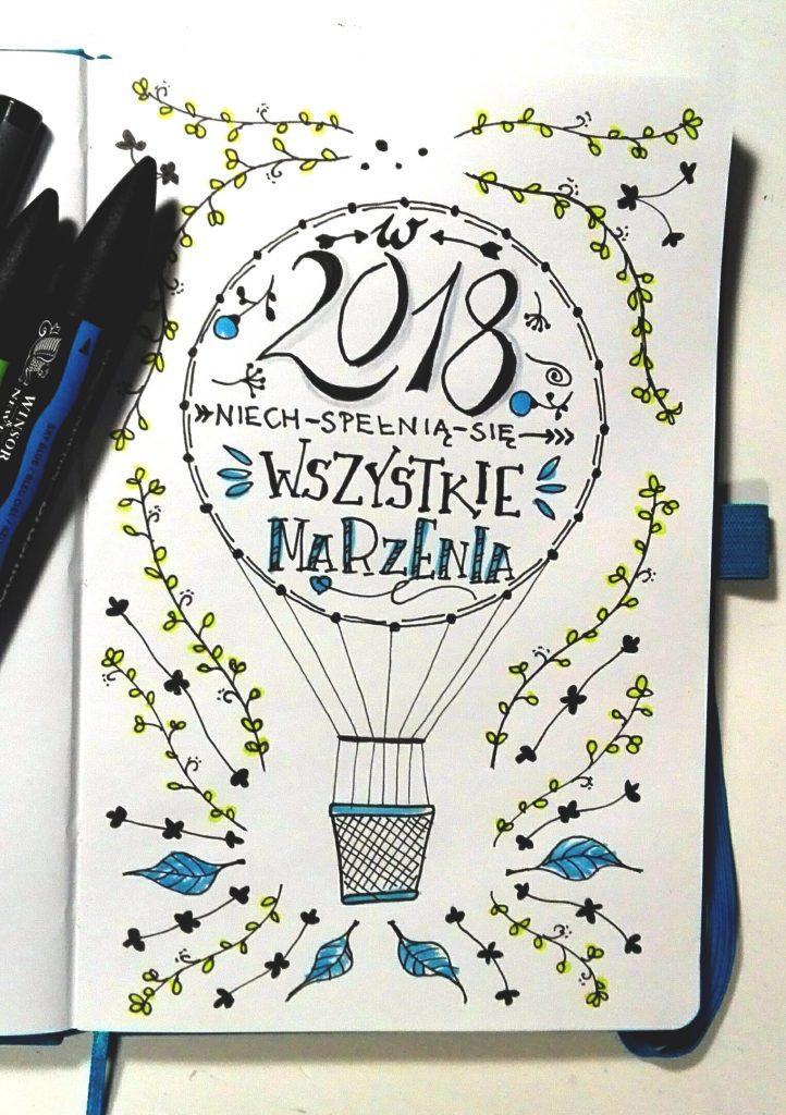 Życzenia Noworoczne - sketchnoting