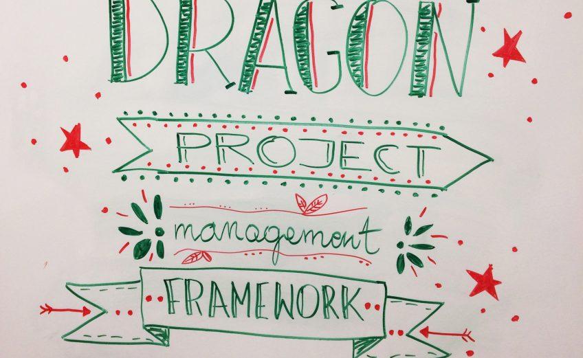 Project Management Framework - sketchnoting
